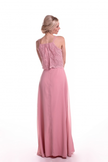 Obrázok 5 Chi-Chi London ružové maxi šaty