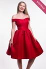 novinka Chi-Chi London červené šaty