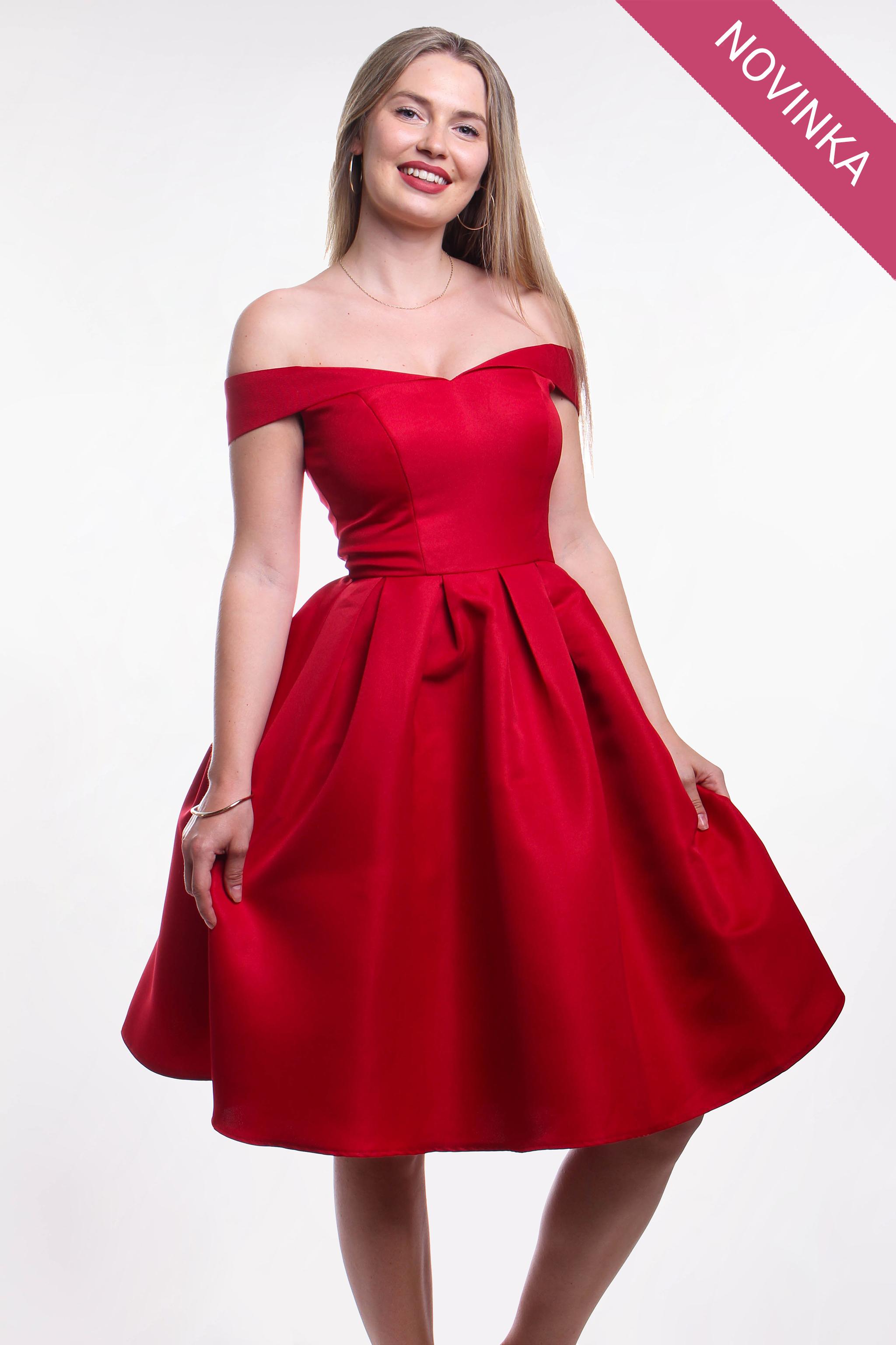 novinka Chi-Chi London červené šaty - Shaty 5c204d8970b
