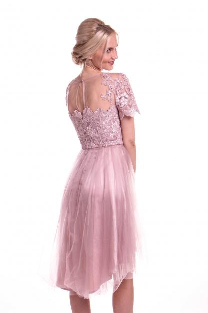 Obrázok 2 Chi-Chi London ružové šaty