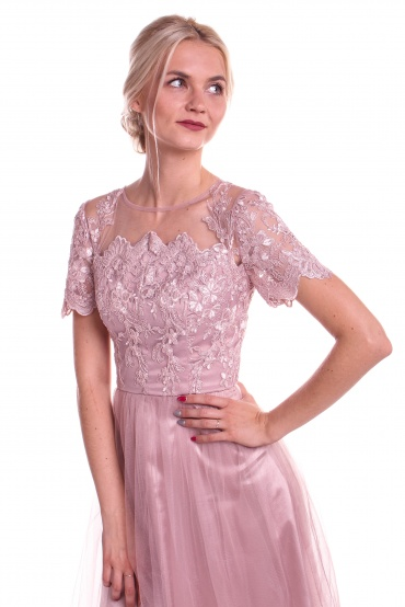 Obrázok 3 Chi-Chi London ružové šaty