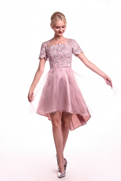 Obrázok 4 Chi-Chi London ružové šaty
