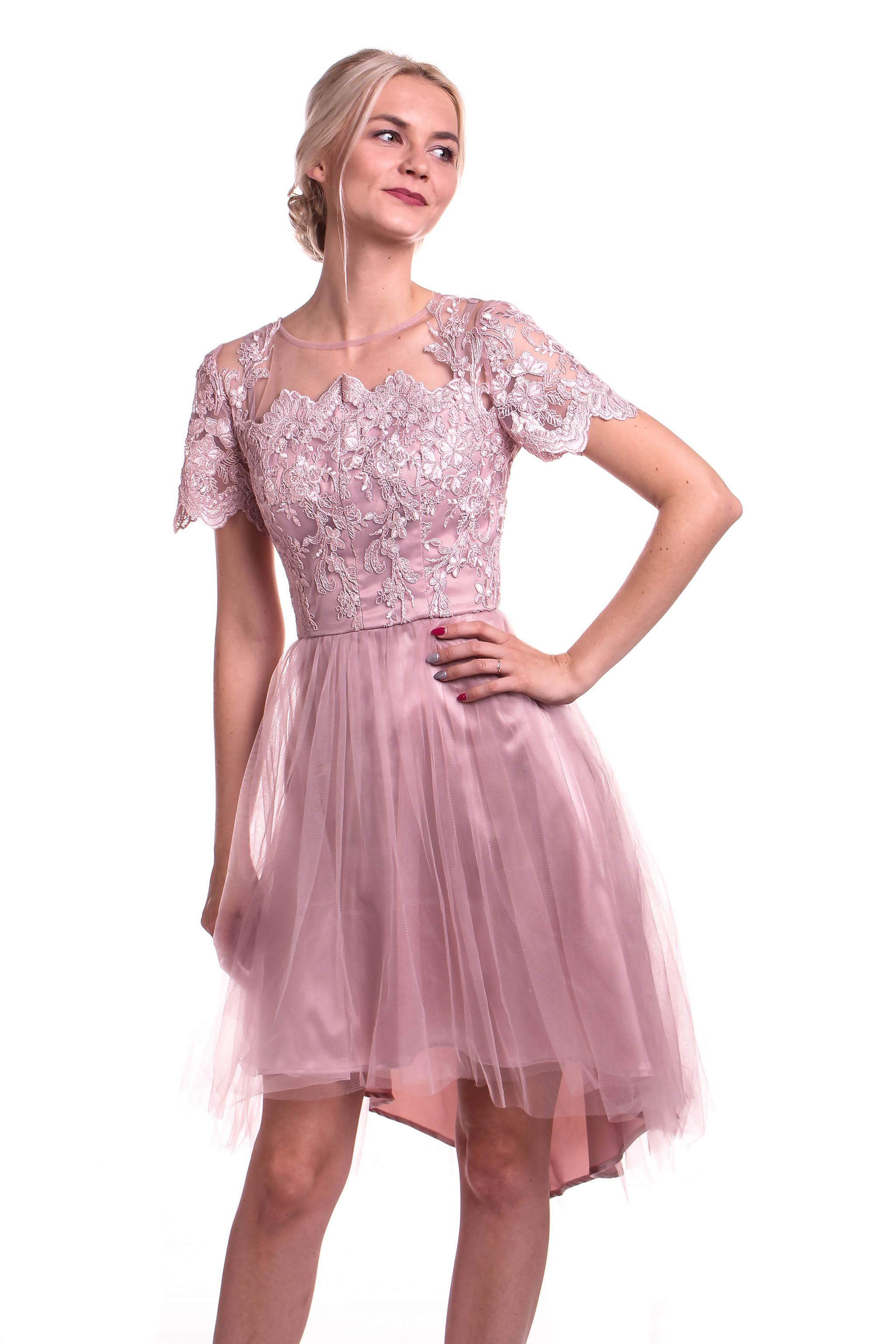 Obrázok 5 Chi-Chi London ružové šaty ae136ede5d7