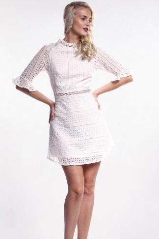 Výber možností · Obrázok 1 Biele háčkované mini šaty 9b76192c5de