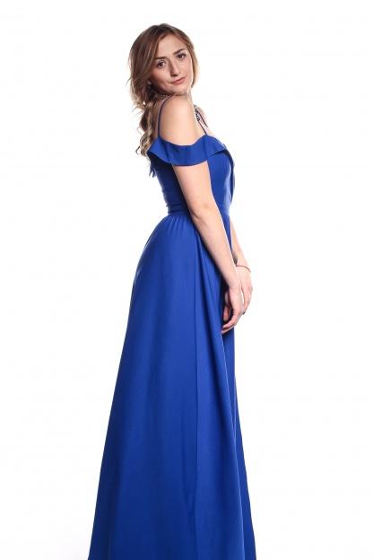 Obrázok 2 Modré plesové šaty