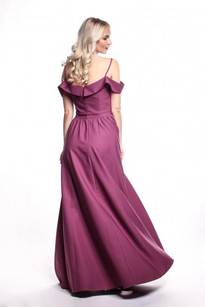 Obrázok 4 Fialové plesové šaty