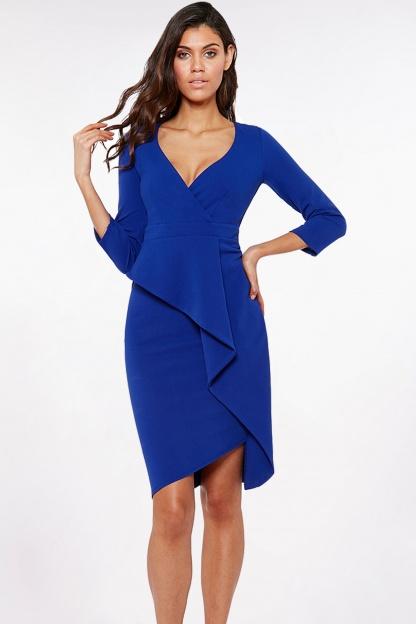 Obrázok 1 Modré šaty svolánom