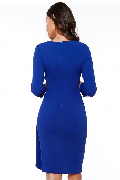 Obrázok 2 Modré šaty svolánom
