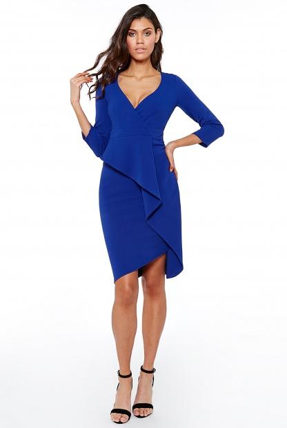 Obrázok 4 Modré šaty svolánom